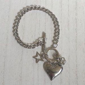 Jewelry - Guess Silver charm Bracelet